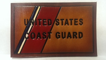 Embossed Coast Guard Flag