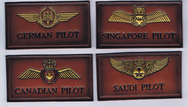 German Pilot, Singapore Pilot, Canadian Pilot, Saudi Pilot