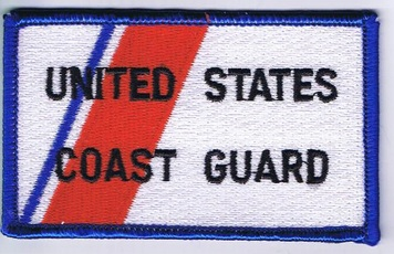 USCG Racing Stripe Flag