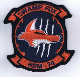 HSM-74 Swamp Fox chest patch