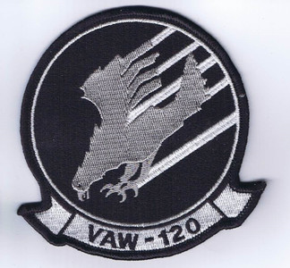 VAW-120 Greyhawks chest patch