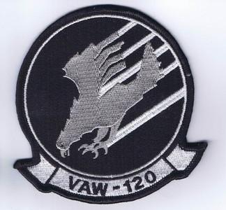 VAW-120 Greyhawks chest patch