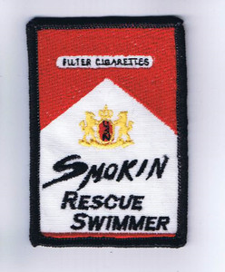 Smokin' Rescue Swimmer