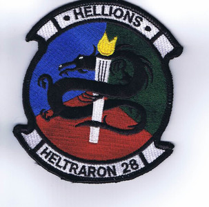 HT-28 Hellions patch