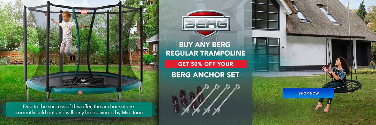 Berg anchor set offer - Eurocycles