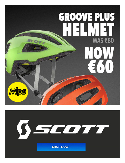 Scott Groove Helmet August Offer - Eurocycles