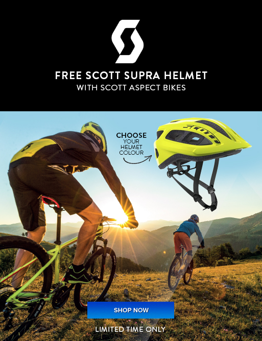 Scott Aspect Free Helmet special offer - Eurocycles