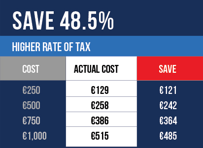 Higher tax savings