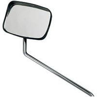 Raleigh Oblong Bicycle Mirror with Rainshield (1014)