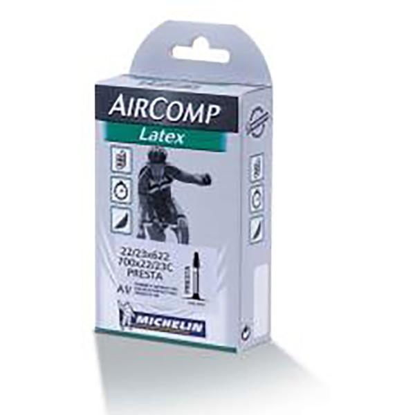 Michelin Air Comp Latex Bike Tubes 26X1.9/2.2 (4606)