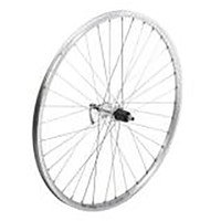 Tru-Build 700C Front Trekking Wheel, Shimano Deore Hub, Built Onto 240 Silver. (5441)