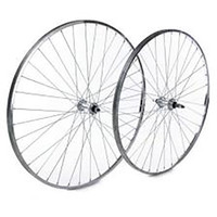 "Tru-Build 27"" Rear Wheel, Silver, 36H.  Ideal Service Replacement (5499)"