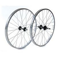Tru-build Front Wheel - Black, 20x1.75  (5400)