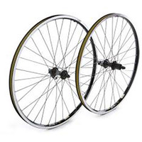 Tru-Build Rear wheel Shimano Deore silver 8/9 speed cassette hub (cassette sold  (5496)
