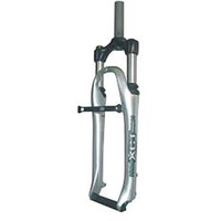"Suntour 1"" Silver Threaded Suspension Bike Fork, 203mm (7001)"