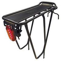 Tortec Black Supertour Rear Bicycle Rack 26-700C (14748)