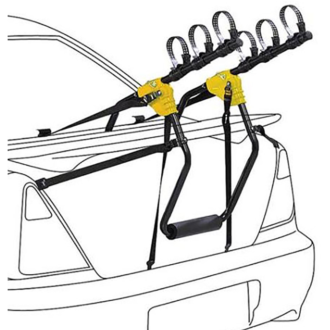 Saris Sentinel Rear Mounted Car Bicycle Rack - 3 Bike Rack