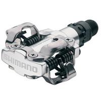 Shimano M520 SPD MTB Bike Pedal Silver - Eurocycles