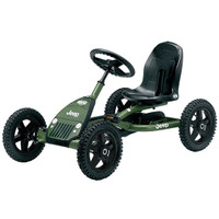 Berg Jeep Junior Pedal Go-Kart Green