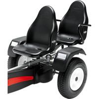 Berg Passenger Seat Deluxe Black  (54684)