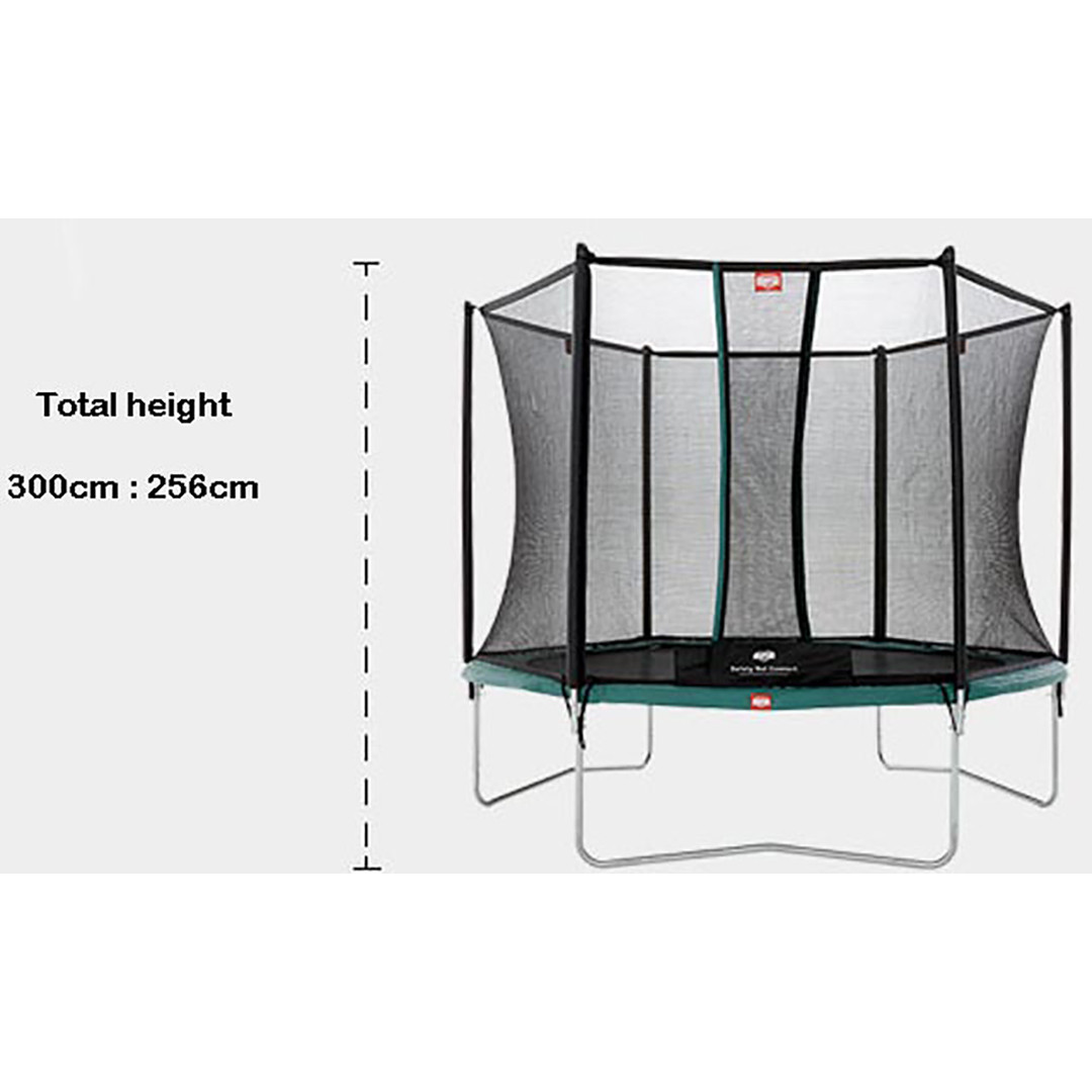 Berg Talent 300 + Safety Net Comfort 10ft Trampoline