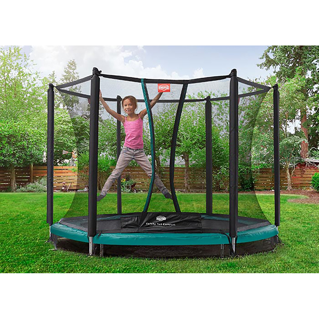 Berg Inground Talent 300 + Safety Net Comfort 10ft Trampoline