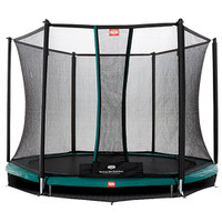 Berg Inground Talent 300 + Safety Net Comfort 10ft Trampoline - Eurocycles
