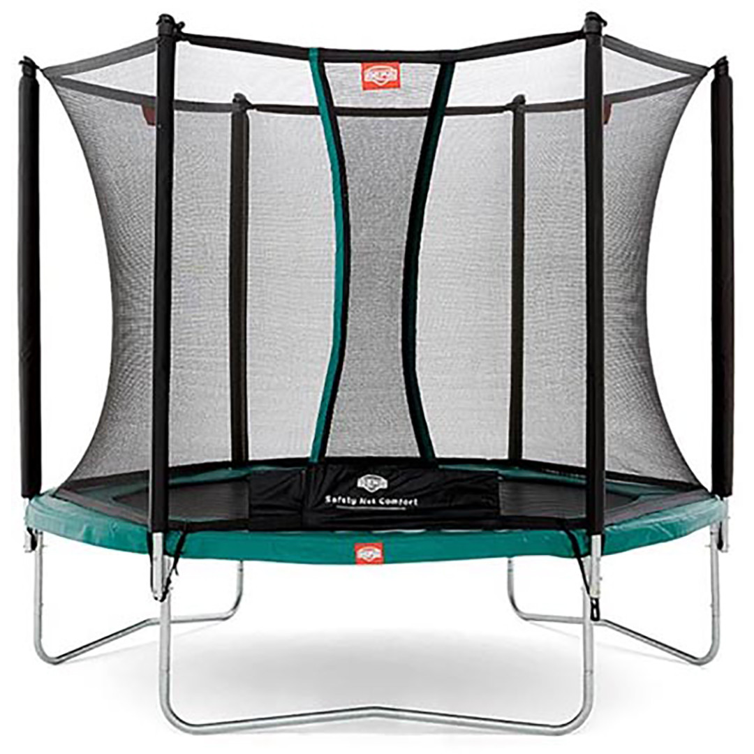 Berg Talent 240 + Safety Net Comfort 8ft Trampoline_1