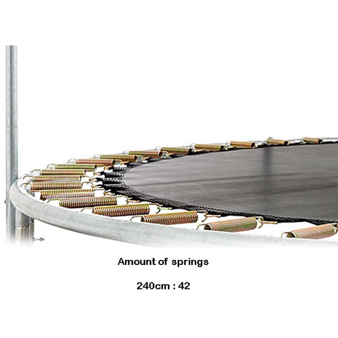 Berg Inground Talent 240 + Safety Net Comfort 8ft Trampoline