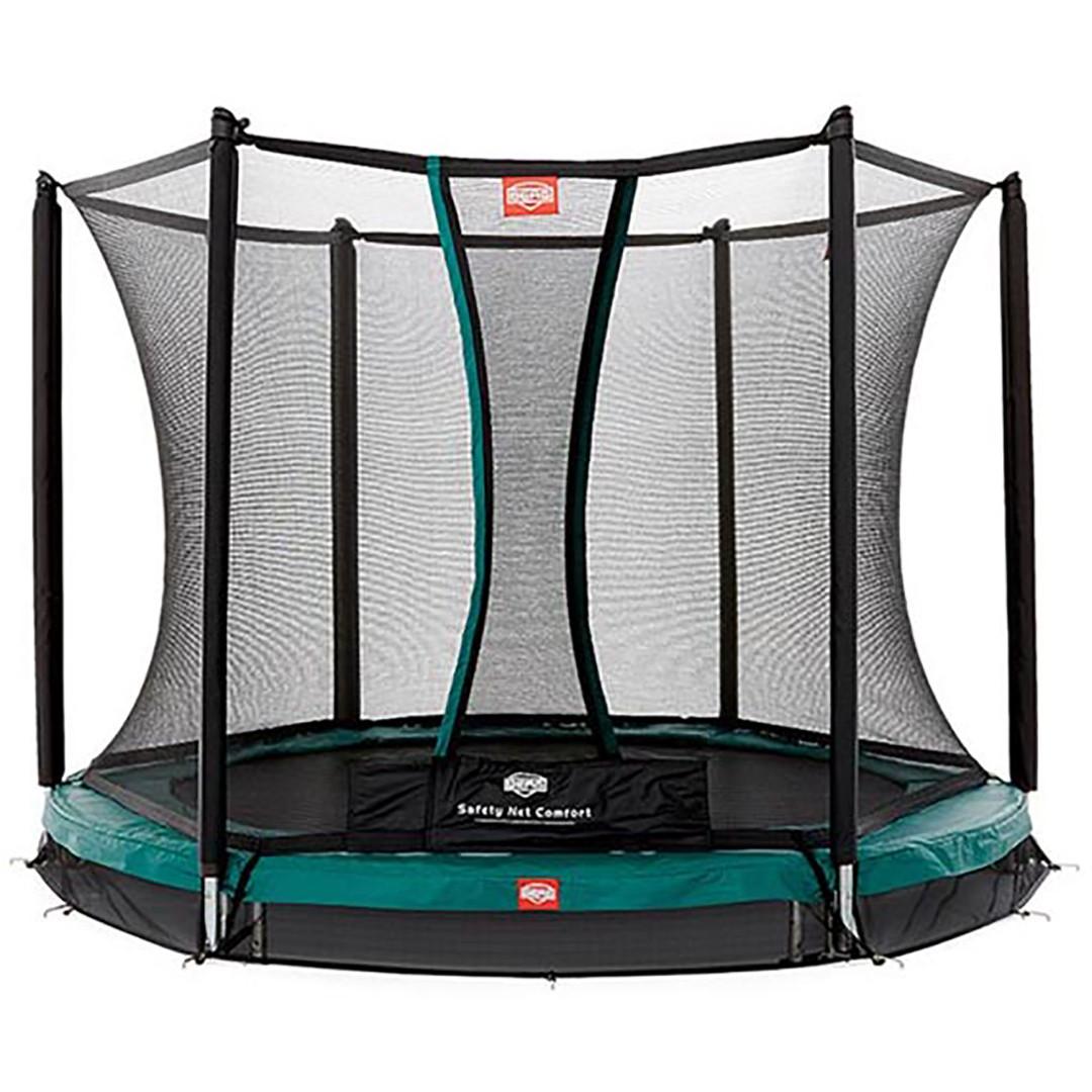 Berg Inground Talent 240 + Safety Net Comfort 8ft Trampoline_1