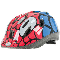 Raleigh Mystery Spider Junior Bicycle Helmet Red/Blue