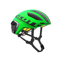 Scott Cadence Plus Helmet (Green Flash/Black) - Eurocycles