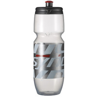 Scott Syncros Bottle Corporate 2.0 Clear/Neon Red 0.7L