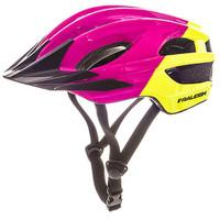 Raleigh K.O.M Segment Helmet- Lime/Purple