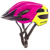 Raleigh K.O.M Segment Helmet- Lime/Purple