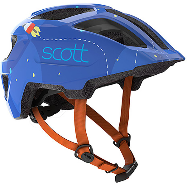 Scott Spunto Kid Helmet - Blue/Orange