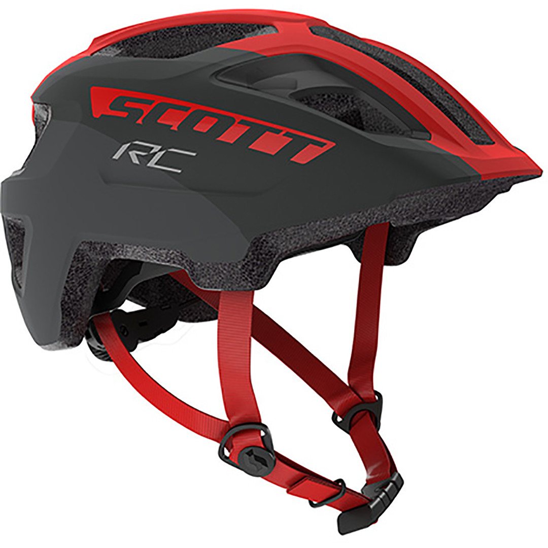 Scott Spunto Junior Helmet - Grey/Red RC
