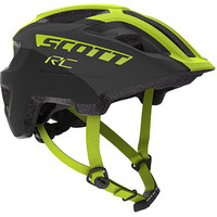 Scott Spunto Junior Helmet - Black/Yellow RC