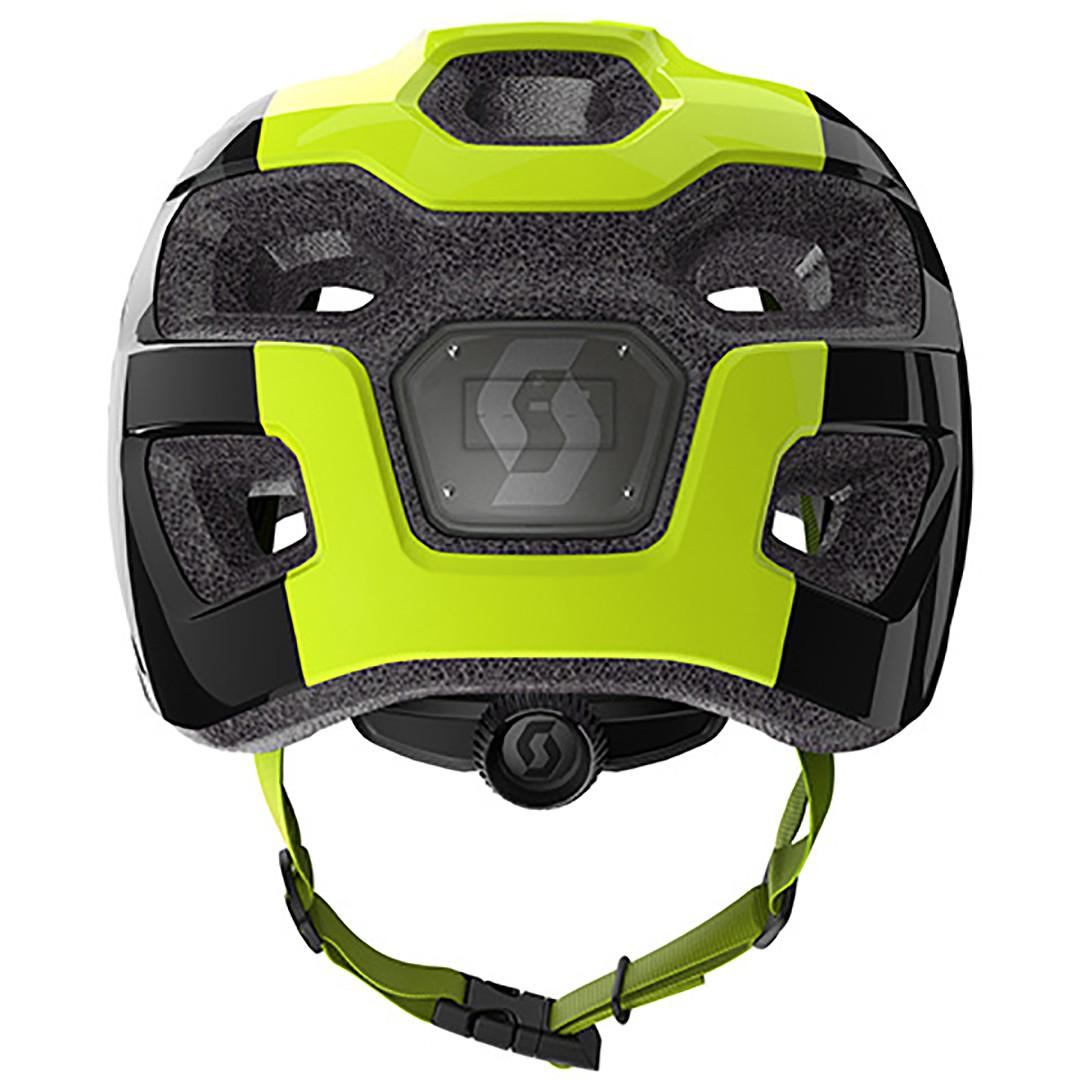 Scott Spunto Junior Helmet - Black/Yellow RC