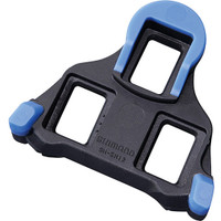 Shimano SM-SH12 SPD SL Cleats, Front Pivot Floating Blue - Eurocycles