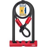 Abus 420 170HB Ultimate D Lock and Cable Pack Gold SS  - Eurocycles