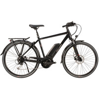 Raleigh MOTUS GRAND TOUR CROSSBAR HUB (2019) - Black - Eurocycles