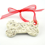 Ceramic Bone Ornament (+ $4.99)