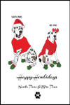 Holiday Card by Sketch & Paws