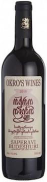 Okro's Wines Saperavi Budeshuri