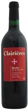 Celliers Jean d'Alibert Les Clairieres Merlot