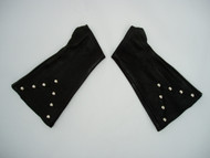 Black Studded (on Forearm only) Leather Arm Chaps