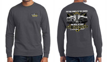 Goerend Racing Long Sleeve Tshirt (Dark Grey)