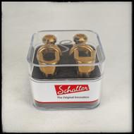 Schaller Strap Locks (Gold)
