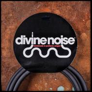 Divine Noise 20' ST-ST Instrument Cable (Black)